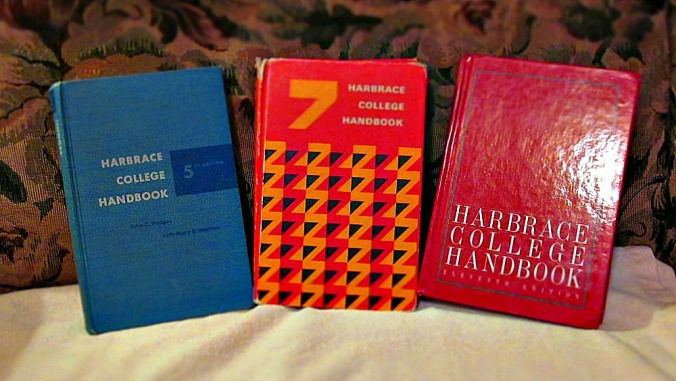 Three Harbrace editions.